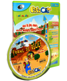 Discover the landforms together with PitiClic - Romanian Version