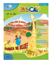 Discover the landforms together with PitiClic - French Version