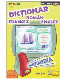 Multimedia dictionary Romanian-English-French (version 2.0)