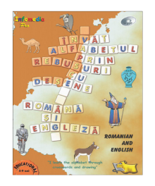 Crossword puzzles to learn the alphabet by drawing