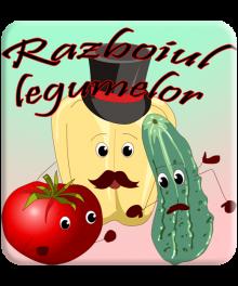 Razboi in gradina de legume