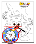 Rabbit – Do it with your own hands! Paiting with a clock