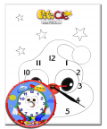 PitiClic – Do it with your own hands! Paiting with a clock
