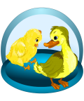 Smarter Child - Duckling&Chick  - Varianta in Engleza
